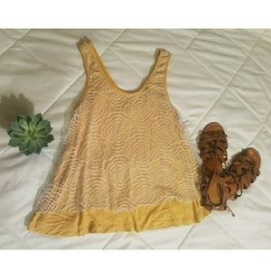5 for $25 Yellow Tank Top